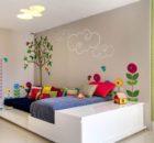 A idade e a decoração do quarto
